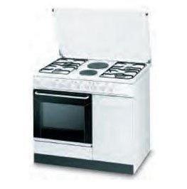 Indesit K9B11SB(W)/I Libera installazione Gas hob B Bianco cucina