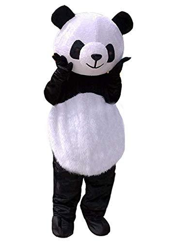 SANEYDER Panda Cosplay Maskottchen Kostüm Kostüm Kostüm Party (Panda Maskottchen Kostüm Für Erwachsene)
