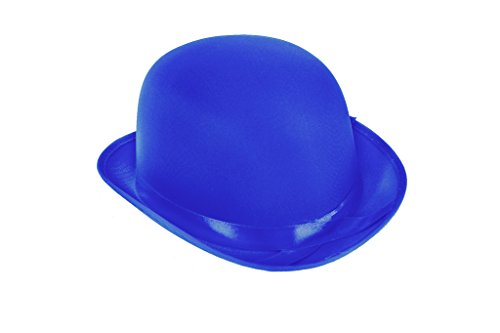 üm BOWLER Hut (Blau) (Blau Tuxedo Kostüme)