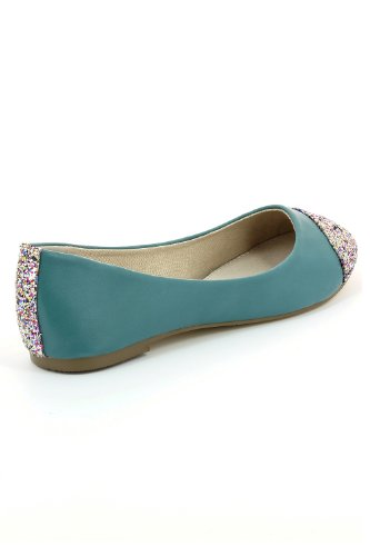 Go Tendance ,  Ballerine donna Blu (Bleu canard)