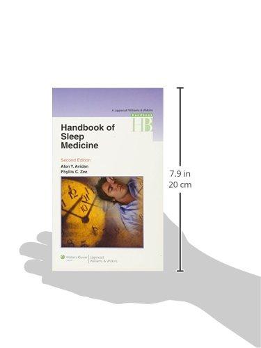 Zoom IMG-2 handbook of sleep medicine