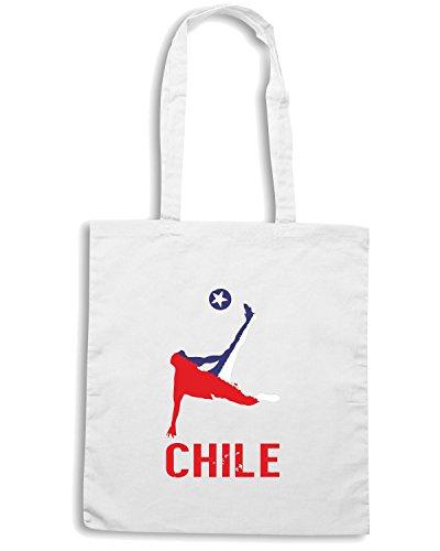 T-Shirtshock - Borsa Shopping WC0257 Chile Bianco