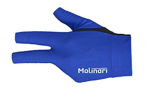 Molinari Billard Handschuh royal-blue, linke Hand
