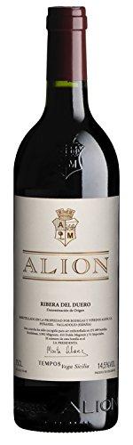 Alion - 2014 - Vega Sicilia Información alergénica: El vino puede contener sulfitos.Graduación alcohólica: 13.00 %
