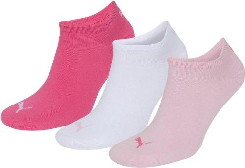 puma-invisble-chaussettes-de-sport-mixte-adulte-lot-de-3-multicolore-rosso-bianco-rosa-39-42