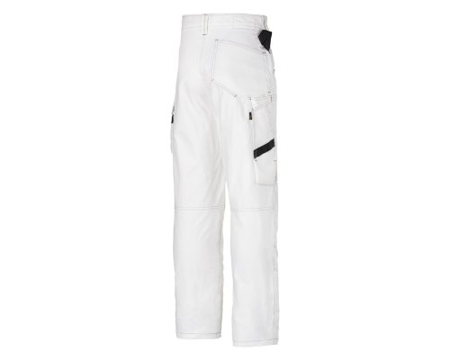 SNICKERS WORKWEAR 3375 - PANTALONES DE TRABAJO  COLOR BLANCO