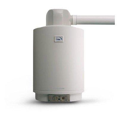 Calentador a gas ad Accumulo Ariston S/Sga ffi-e 80completo de KIT desagüe Caperuza metano
