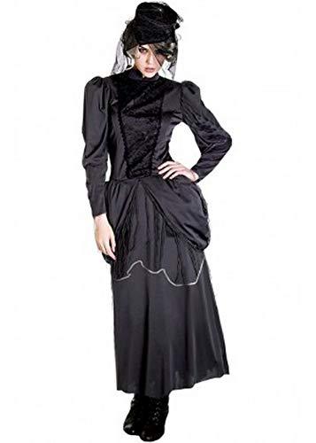 Für immer junge Damen Hexe Kostüm Zombie Braut Vampir Scary Halloween Kostüm UK Größe 12 (Uk Hexe Halloween-kostüme)