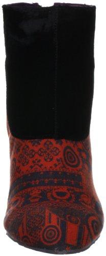 Desigual Corrasco 27AS359, Stivaletti donna Rosso (Rot (Rojo 3092))