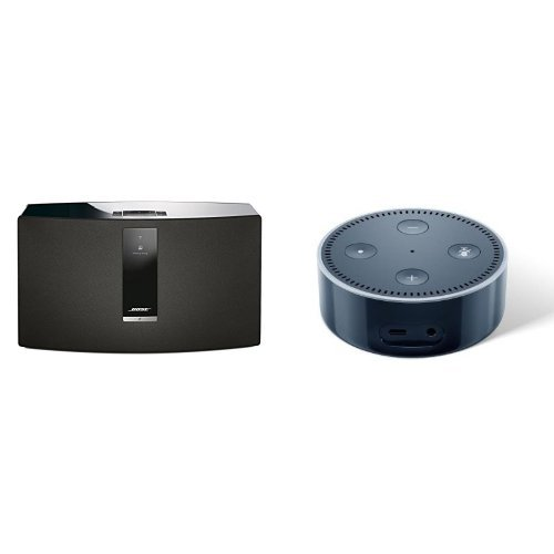 Bose SoundTouch 30 Series III kabelloses Music System + Amazon Echo Dot (2. Generation)