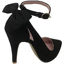 acd6e8148b Tomwell Sandalias Mujer Arco Tacón Alto Zapatos Apuntado Zapatos Boda  Fiesta Zapatos