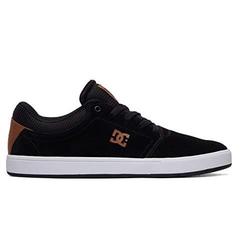 DC Shoes Crisis - Leather Shoes for Men - Schuhe - Männer - EU 43 - Mehrfarbig (Dc Mens Fashion Sneaker)
