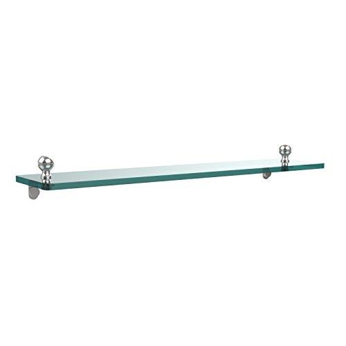 Allied Glass Badezimmer Regal (Allied Brass MA-1/22-PC 22 by 5-Inch Single Glass Shelf by Allied Brass)