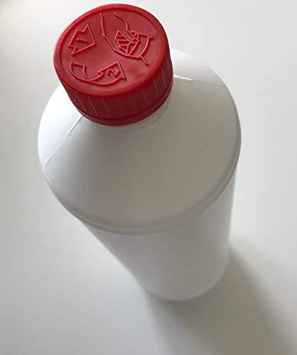 Wasserlack mit nano Keramik Partikeln (1 l): Für Parkett- und Korkböden und Korkmosaik/lösemittelfrei / PUR/hoch elastisch/streichbar / spachtelbar/klar - transparent/kratzfest