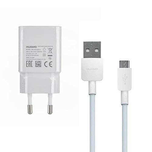 Smart Ladekabel (TelefonFritz Original Power Adapter Ladegerät HW-050200E01 2Ampere Weiß/Ladekabel MicroUsb für Huawei P10 Lite/ P9 Lite/ P8/ P8 Lite/ P8 Lite 2017/ P Smart/P Smart 2019 Honor 7 6/ Ascend P8 P7 UVM)