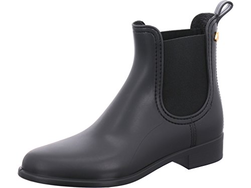 Lemon Jelly Damen Splash Chelsea Boots Schwarz