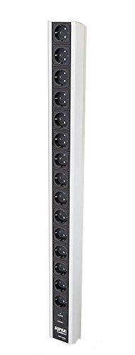 Supra Cables LoRad Netzleiste MK III MD15 EU/SP mit Ü-Schutz, 15-Fach