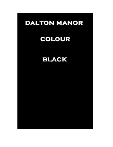 Dalton Manor Lot de 100 feuilles cartonnées A4, noir, a4
