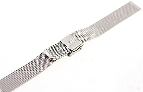 Original Skagen Denmark Uhren Armband 358SSSD Ersatzband Band ohne Uhr Mílanaise