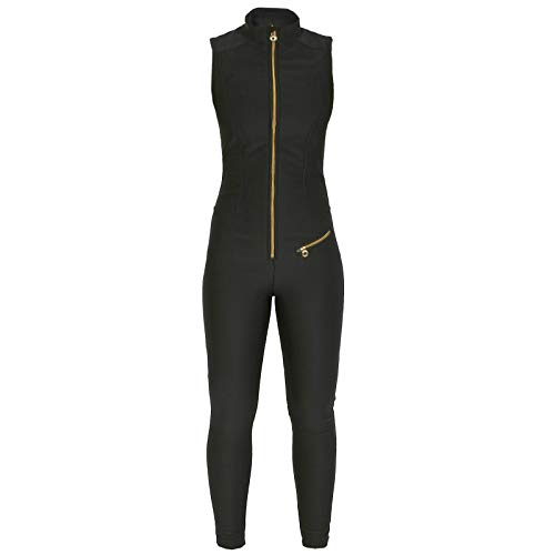Jet Set Damen Skioverall Domina Tiger Black Gr. 3 -
