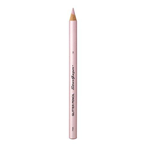 Stargazer Products Glitzer Kajal/Lippenstift, pink, 1er Pack (1 x 1 g)