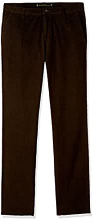 Ruggers Men's Casual Trousers (8903600967464_231015461_36W X 38L_Dark Olive)