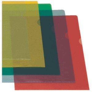 Esselte 54837 Sichthülle Standard Plus, A4, PP, genarbt, 100 Stück, blau