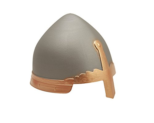 My Other Me Me - Casco medieval, talla única, color plateado (Viving Costumes MOM01622)