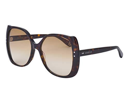 Gucci Sonnenbrillen (GG-0472-S 002) havana dunkel - grau-braun verlaufend