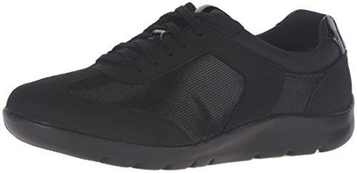 rockport-moreza-chev-t-toe-donna-us-8-nero-stretta-scarpe-ginnastica