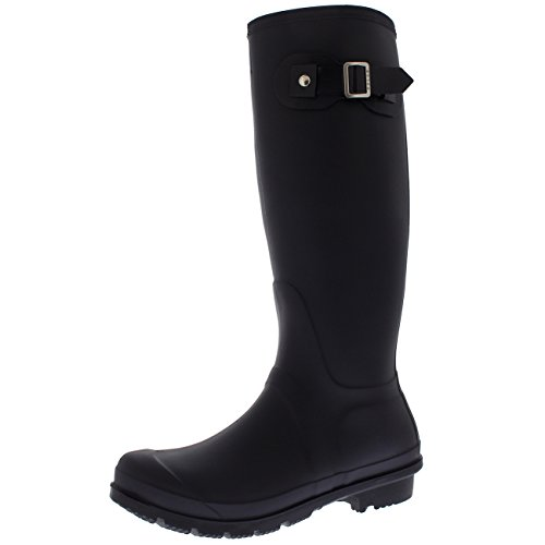 Womens Original Tall Side Buckle Dog Walking Snow Rain Waterproof Wellington Boot