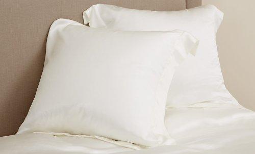 Queen Jasmine Silk 100/% Charmeuse Silk Duvet comforter Cover IVORY
