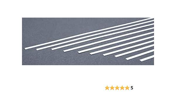 Evergreen Styrene Strip 3.20 x 4.80mm 0.125 x 0.188