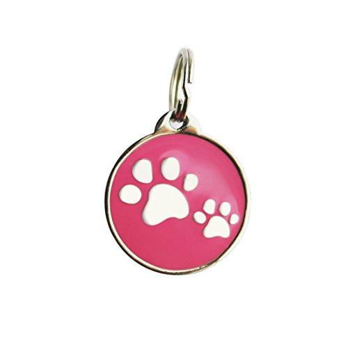 Bow Wow Meow Chapa Inteligente con código QR y Chip NFC   Chapa de Identificación para Perros y Gatos con GPS Pasivo