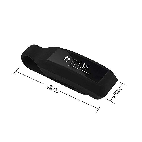 TOMALL Fitbit Alta Clip Holder Elasticity Silicone Replacement Accessories Clip Clasp Strap for Fitbit Alta Tracker…