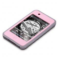 GEAR4 Jumpsuit Grip Hülle für iPod Classic 80GB, rosa/grau