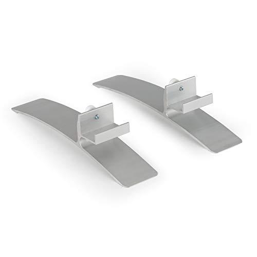 Klarstein Wonderwall Patas para Calefactor infrarrojo Wonderwall - Plástico, 2 Piezas, Accesorios,...