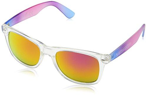 Customobel Unisex-Erwachsene Sonnenbrille San Francisco, Rosa (Naranja), 4