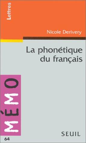 La phonétique du français
