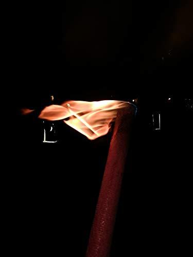 50x Wachsfackel Fackel Gartenfackel - Brenndauer je nach Länge (35 cm - ca. 60 Minuten Brenndauer)