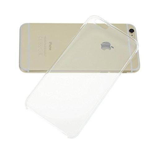 "doupi Crystal AllClear - Original - Coque de protection pour iPhone 8 / 7 ( 4.7"" ) Etui Case Bumper Cover complètement transparent pour iPhone 6/6S Plus - Transparent"