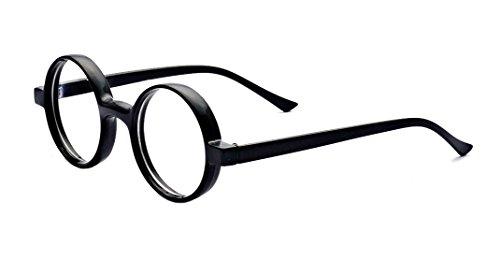 ALWAYSUV Harry Potter Klassische Cosplay Runde Brille Glasses Halloween Kostüm Zubehör