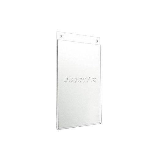 Displaypro - Expositor acrílico de pared para póster, 5 unidades, A4