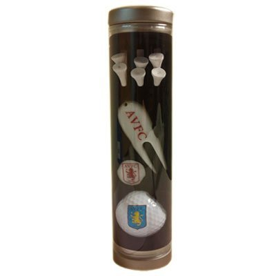 Aston Villa F.C. Golf Gift Tube by Aston Villa F.C.