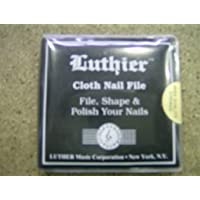 LIMA UÑAS GUITARRA - Luthier (LU/NF) (Block Lima Uñas) (8 Diferentes Tipos de Lija)