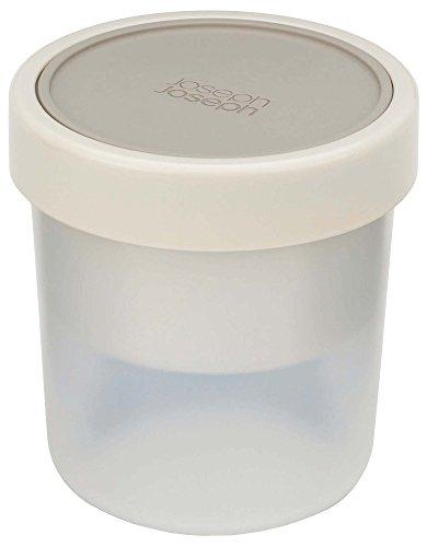 Joseph Joseph 81028 GoEat-Lunch Box Boite à Soupe compacte 2 en 1-Gris, Plastique