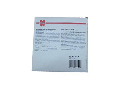Wrth-Moulures-Ruban-adhsif--Largeur-4-Mmlongueur-10-m--ruban-adhsif-double-face-avec-support-acrylique-atkleber-fixer-de-barres-dornement-fonction-emblemen-en-polythylne-Lot-de-4-enjoliveurs-Supports-
