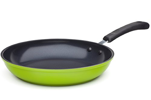 "Ozeri 10"" Green Earth Frying Pan, with Textured Ceramic Non-Stick Coating from Germany (100% PTFE, PFOA and APEO Free)"
