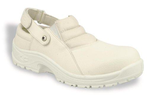 Cofra, 10020-000, Scarpe di sicurezza Airmax Anco SB AE SRC, mocassini, bianco, taglia 41