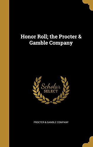 honor-roll-the-procter-gamble-company